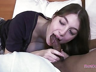 Marie Fullbush - black cock audition