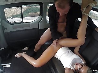FuckedInTraffic - Hot car fuck with naughty Czech babe