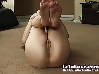 Lelu Love-Naked Workout Asshole Puckering