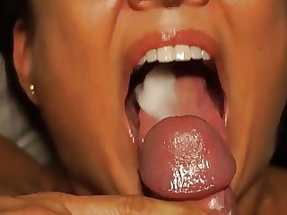 Amateur cum in mouth compilation #07