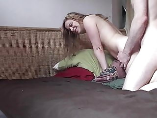 Young and natural couple fucking