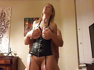 Boltonwife taken from behind bondage part 2