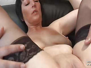 Busty french mature analyzed n pussy creamed n double fisted