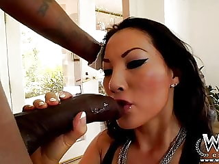 WCPClub Asa Akira taking a giant BBC in her ass