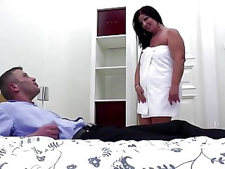 Mature booty mom suck and fuck young cock