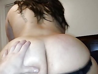 Mexican gf riding dick