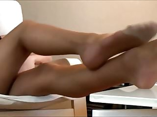 Best polish girl in tan Pantyhose