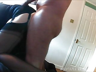 Sissy Slut Ginger Fucked On Leash Part 1