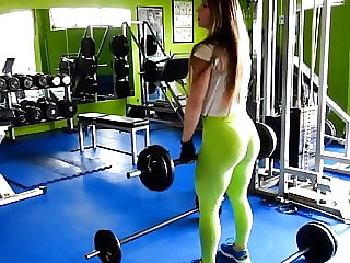 my god!!! fitness hot ASS hot CAMELTOE 2