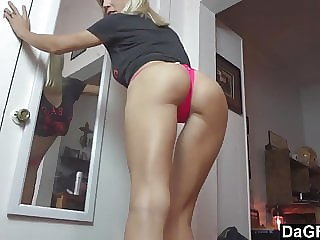 Neighbour Surprised by Horny Mom and Her Sex Toys