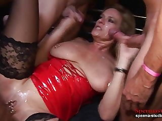 Sperma-Studio: Cumshots Orgy - Marina Part 2