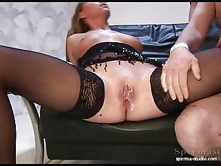 Extreme Creampies and Cumshots - Sexy Natalie T1 .