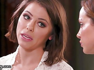 GIRLSWAY Adriana Chechik & Abigail Mac Pre Wedding Day Sex