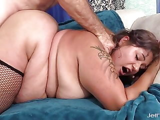 Jeffs Models - BBW Veruca Darling Doggystyle Compilation 1