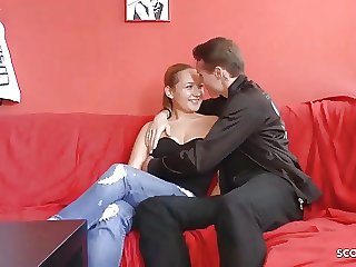 German Natural Teen At No Condom Porn Casting for Cash