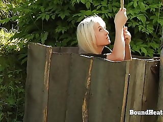 DoA 2: Bound Lesbian Slave In Chains Punished And Dominated