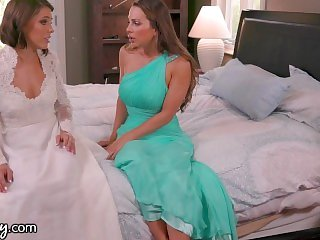 Adriana Chechik & Abigail Mac Pre Wedding Day Sex-GIRLSWAY