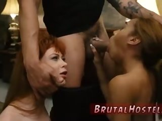 Rough passionate xxx Soon after arriving at Hostel Bruno the Innkeeper