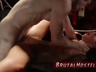 Teen outdoor forest and russian brutal dp Excited youthfull tourists