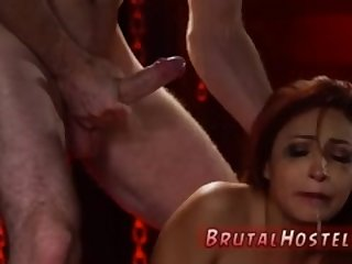 Man dominated with dildo and bondage ring gag blowjob Poor little Jade