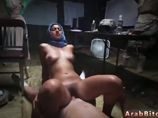 Arab sex Sneaking in the Base!