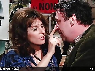 actress Bernadette Lafont naked and hot sex movie scenes