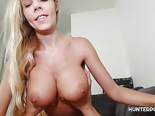 Innocent looking blonde gets POV treatment
