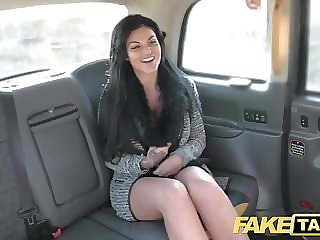 Fake Taxi Frustrated busty Candy Sexton wants drivers cock