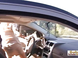 A broken down car is a good way to attract cock-hungry couga