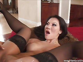 Asian Babe Gets Anal Drilled By BBC