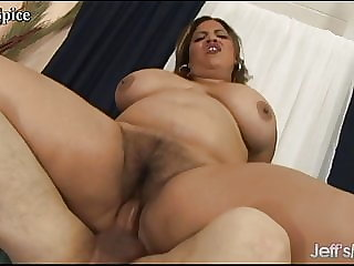 Jeffs Models - Hairy BBW Pussies Get Stretched Compilation 2