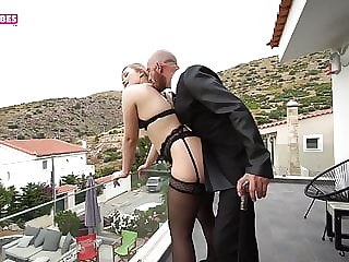 SUGARBABESTV : The first Greek cuckold