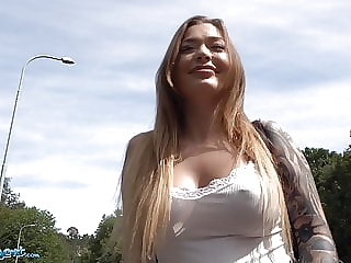 Public Agent Hot Russian Misha Maver fucked in a tunnel