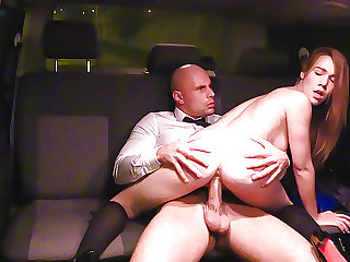 VIPSEXVAULT -Czech Teen Alexis Hardcore Sex with Taxi Driver