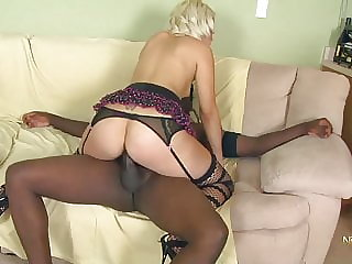Blond Cheating Wife in her first Porn Casting with BBC