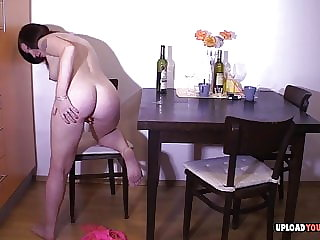Girlfriend gets lonely and decides to masturbate