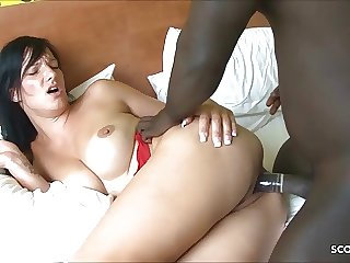 German Wife Cheat Husband with Monster Cock Black Callboy