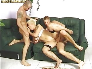 Cand's double penetration party.