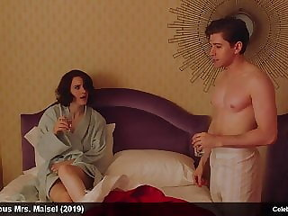 Rachel Brosnahan nude and sexy movie scenes