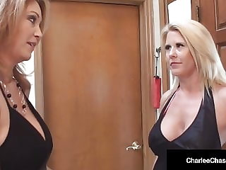 Busty Milf Charlee Chase Bangs Stripper With Hubby!