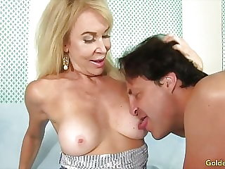 Golden Slut - Older Lady Blowjob Compilation Part 2