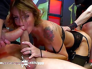 Elen anal fuck with Bukkake facial Germangoogirls