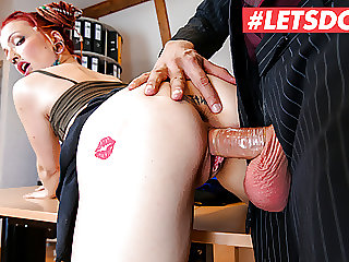 LETSDOEIT Tattooed Teen Jezzicat End Up Having Sex With Boss