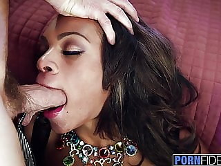 PORNFIDELITY Big Tit Ebony Halle Hayes Bred By White Dick