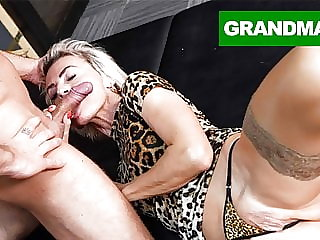 Sluttiest Granny Craving for Creampie