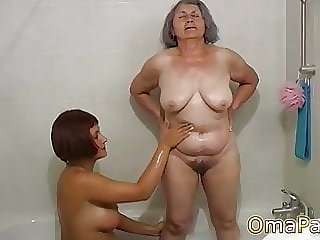 OmaPasS Compilation of Granny Sex and Masturbation