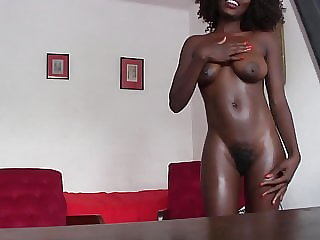 CUMMING ON BLACK'S TEEN HUGE BOOBS