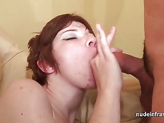 Young french redhead hard sodomized for her casting couch