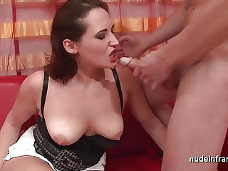 Casting french redhead ass fucked and creamed