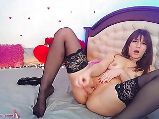 Camgirl Play Pussy and Ass Hole Sex Toys on Stream